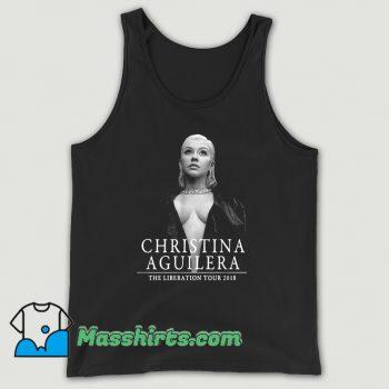Christina Aguilera The Liberation Tour Tank Top