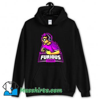 Cool Cyber Ninja Mascot Logo Hoodie Streetwear