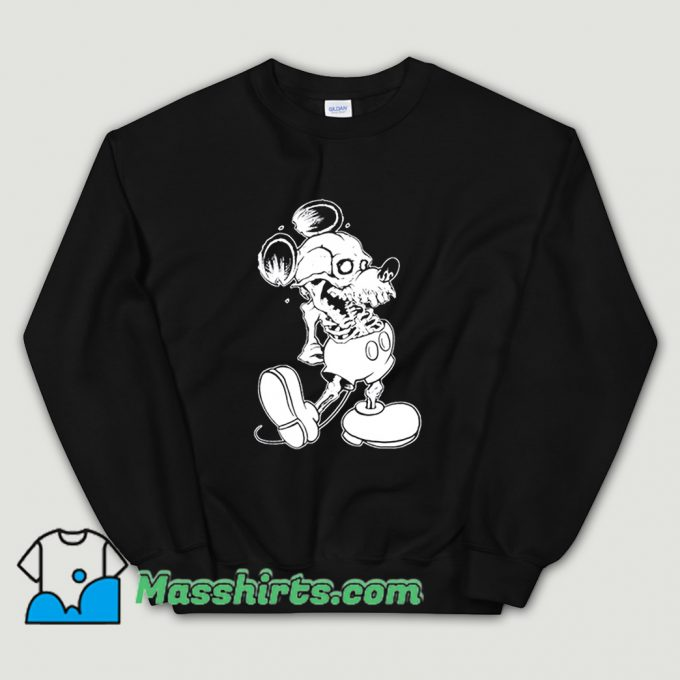 Classic Dead Mickey Mouse Sweatshirt