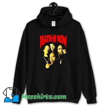 Funny Death Row Retro 90s Hoodie Streetwear