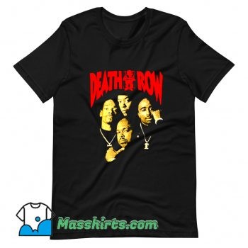 Vintage Death Row Retro 90s T Shirt Design