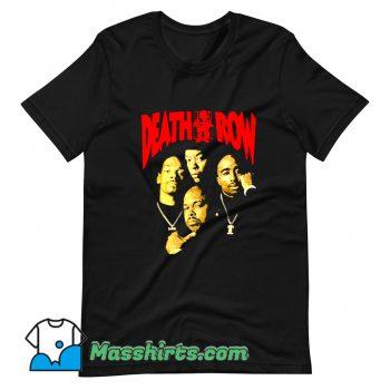 Vintage Death Row Retro 90s T Shirt Design