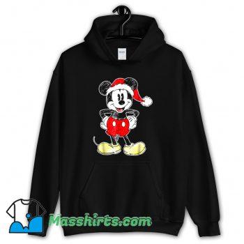 Christmas Disney Mickey Mouse Hoodie Streetwear
