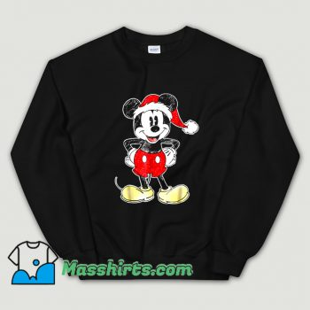 Cute Disney Mickey Mouse Christmas Sweatshirt