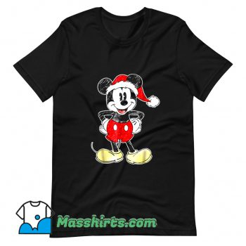 Disney Mickey Mouse Christmas T Shirt Design