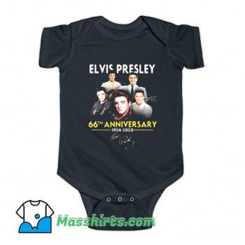 Elvis Presley 66th Anniversary Baby Onesie