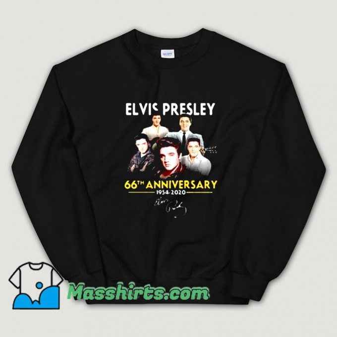 66th Anniversary Elvis Presley Sweatshirt