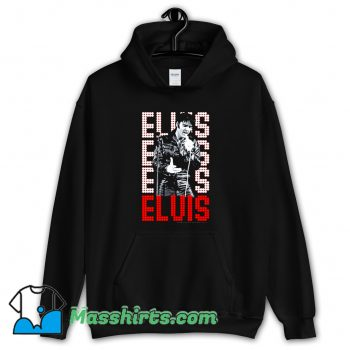 Elvis Presley In Lights Hoodie Streetwear On Sale