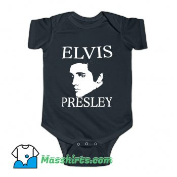 Elvis Presley Photo Baby Onesie
