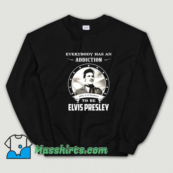 Cool Everybody Has An Addiction Mine Sweatshirt