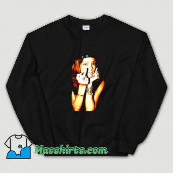 Classic Fuck Rihanna Smoking Sexy Sweatshirt