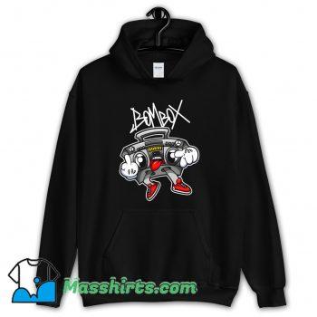 Fuck Vector Graffiti Boombox Character Hoodie Streetwear