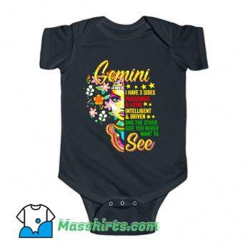 Gemini Birthday MayJune Baby Onesie