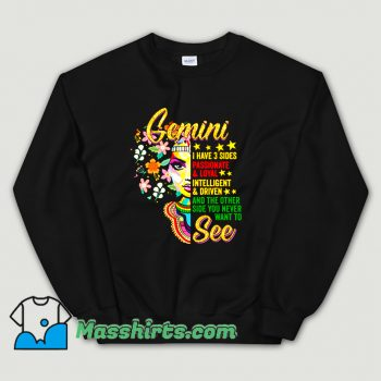 Cool Gemini Birthday MayJune Sweatshirt