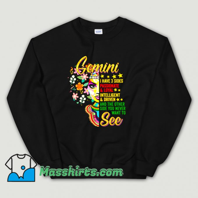 Cool Gemini Birthday MayJune Sweatshirt