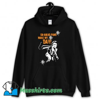 Go Ahead Punk Hoodie Streetwear On Sale