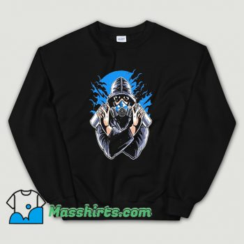 Funny Graffiti Gas Mask Sweatshirt