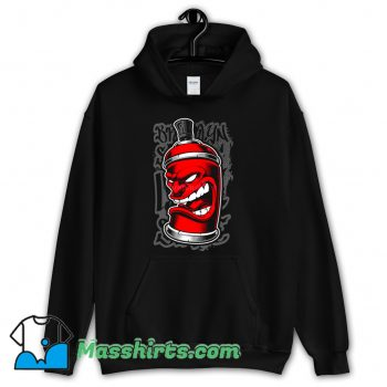 Funny Graffiti Spray Monster Hoodie Streetwear