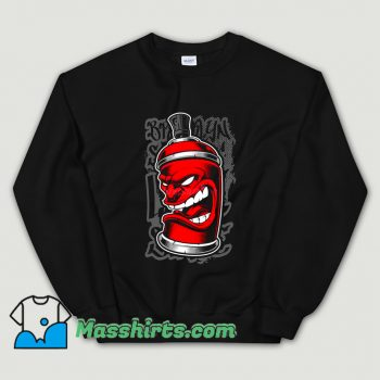 Vintage Graffiti Spray Monster Sweatshirt
