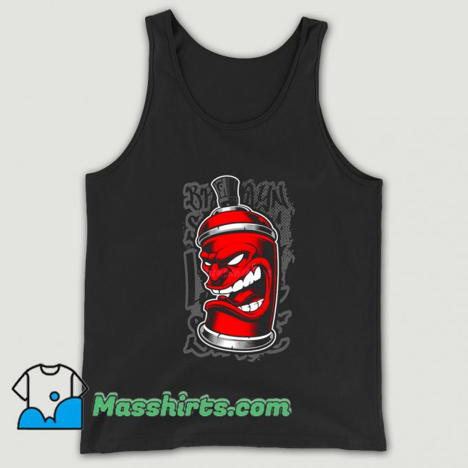 Awesome Graffiti Spray Monster Tank Top