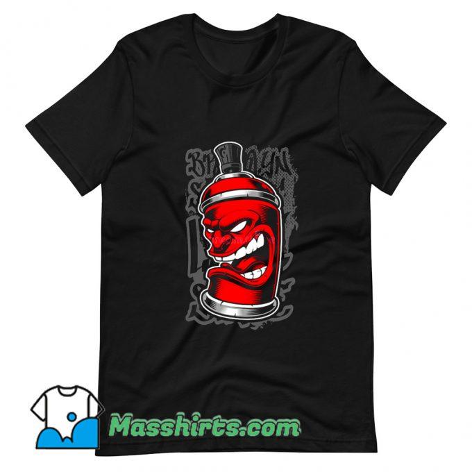 Classic Graffiti Spray Monster T Shirt Design