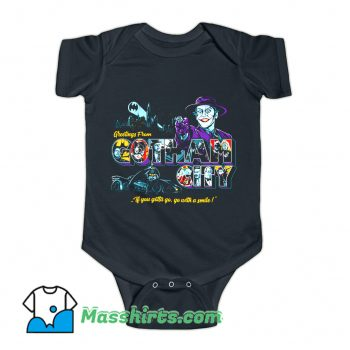 Greetings From GC Baby Onesie