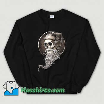 Cool Hip Hop Skull Beard Sweatshirt