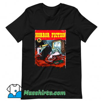 Creepy Horror Fiction T Shirt Design