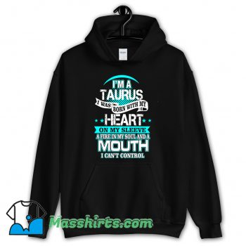 I Am A Taurus All Over Heart Hoodie Streetwear On Sale