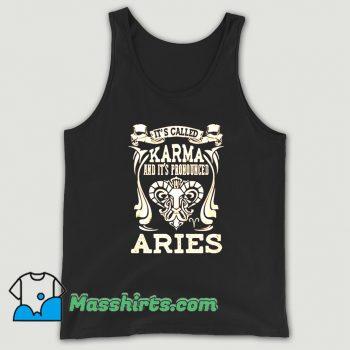 Classic Its Called Karma Aries Tank Top