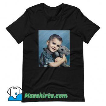 Classic Justin Bieber Hug Bear T Shirt Design