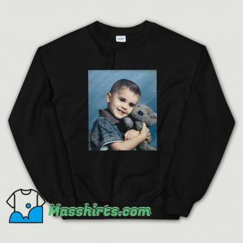 Justin Bieber Hug Bear Sweatshirt