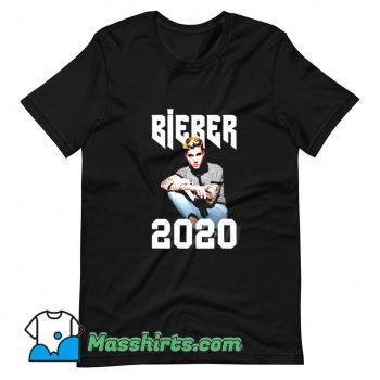 Justin Bieber Handsome Young Singer T Shirt Design