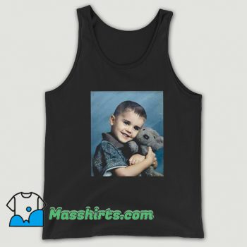 Cheap Justin Bieber Hug Bear Tank Top