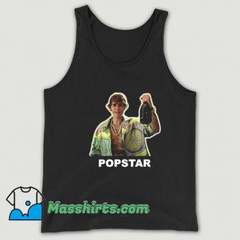 Vintage Justin Bieber Popstar Tank Top