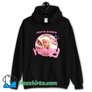 Classic Justin Bieber Yummy Signature Hoodie Streetwear