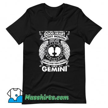 Legend Gemini Was Perfect Girls T Shirt Design
