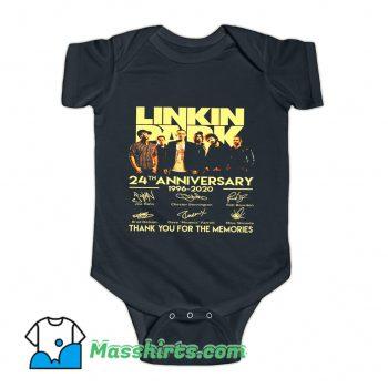 Linkin Park 24th Anniversary 1996-2020 Baby Onesie
