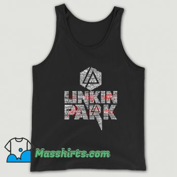 Original Linkin Park List Of Songs Tank Top
