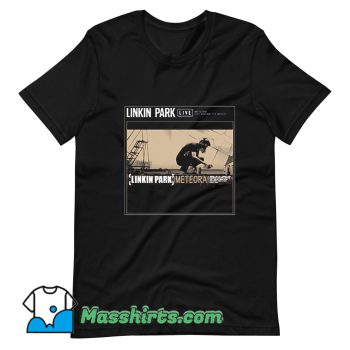 Vintage Linkin Park Meteora T Shirt Design