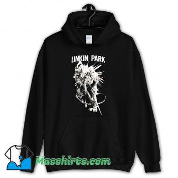 Original Linkin Park Noir Dark Flower Hoodie Streetwear
