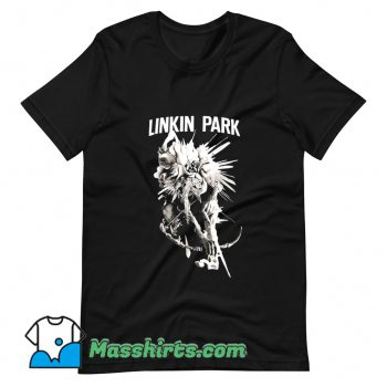 Linkin Park Noir Dark Flower T Shirt Design