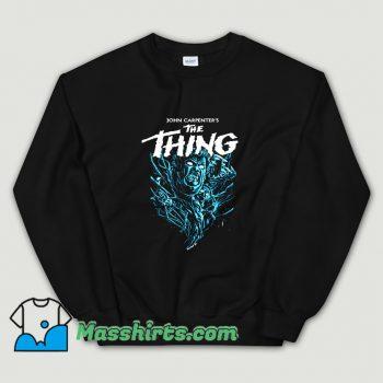 Man Is The Warmest Place To Hide Sweatshirt
