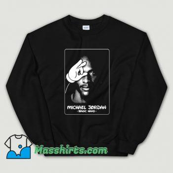 Michael JordanTupac Magic Hand Sweatshirt