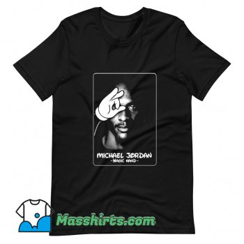 Michael JordanTupac Magic Hand T Shirt Design