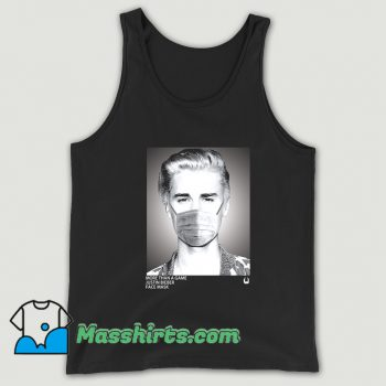 More Than A Game Justin Bieber Face Mask Tank Top
