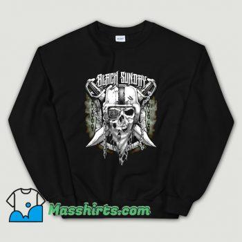 Oakland Raiders Black Sunday Sweatshirt On Sale