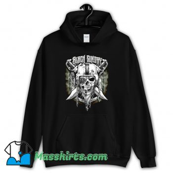 Cool Oakland Raiders Black Sunday Hoodie Streetwear