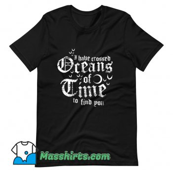 Vintage Oceans Of Time T Shirt Design