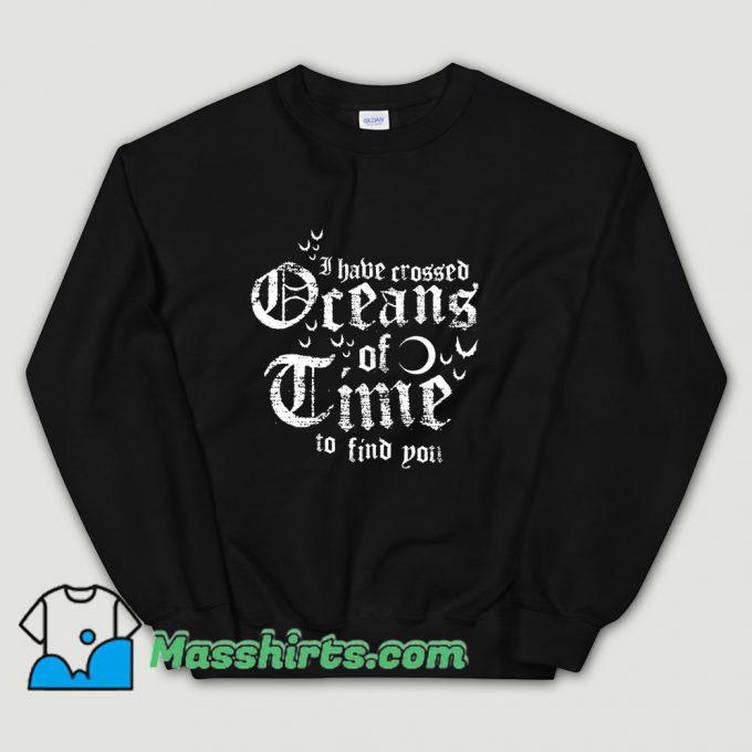 Cool Oceans Of Time Sweatshirt
